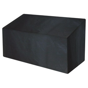 Garland 3 Seater Black Bench Cover