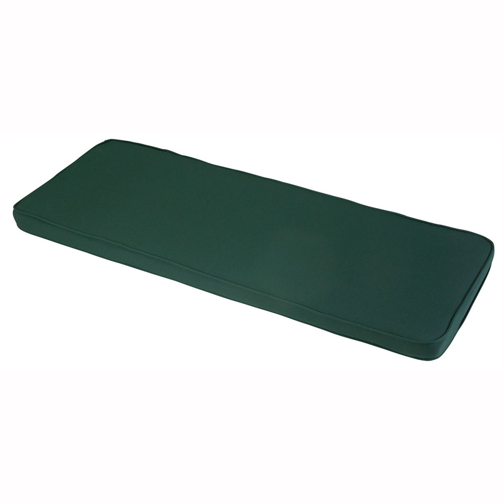 Glendale Leisure Glendale 2 Seater Outdoor Bench Pad Green