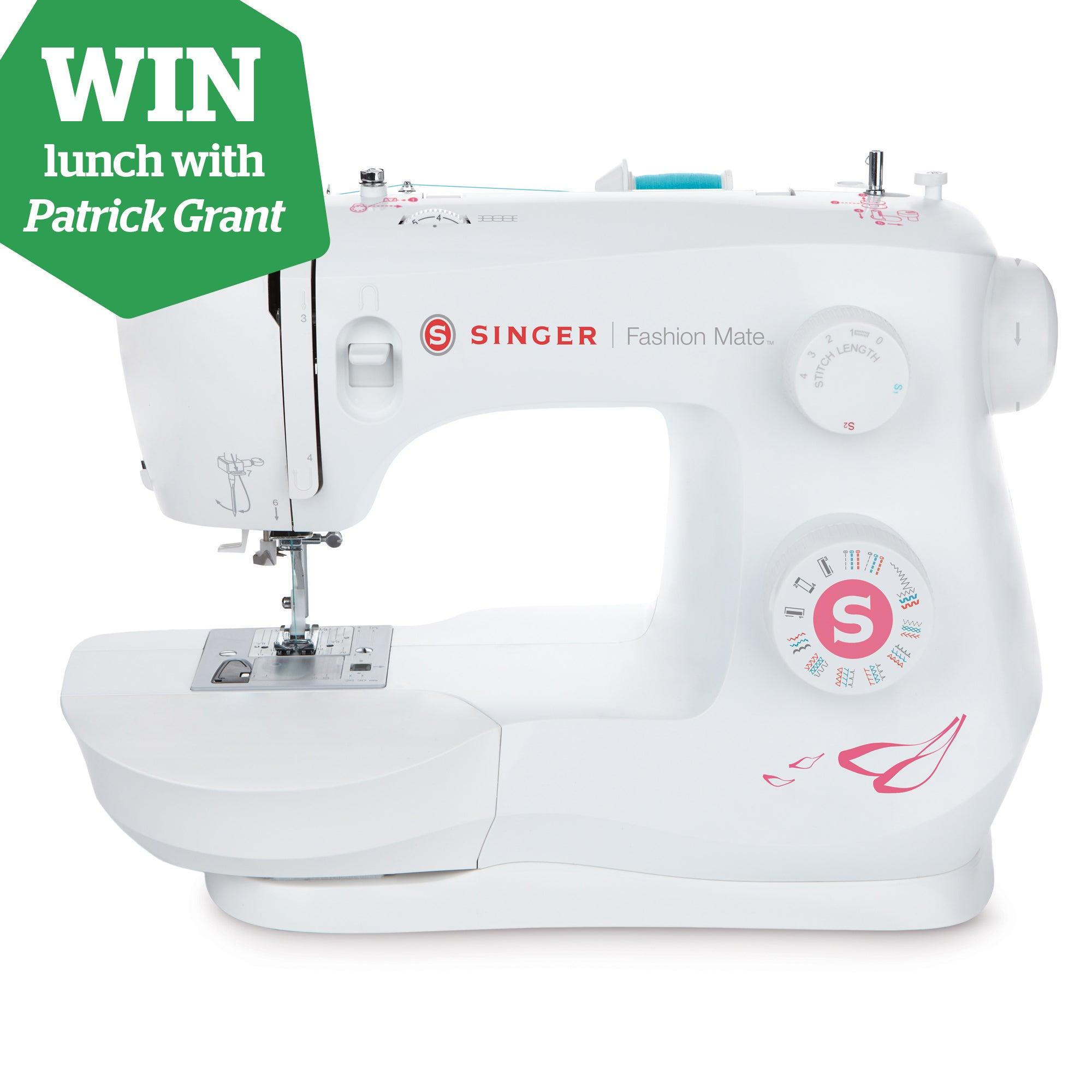 Singer Fashion Mate 3333 Sewing Machine White