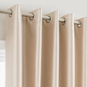 Montana Cream Eyelet Curtains