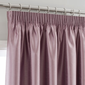 Montana Mauve Pencil Pleat Curtains