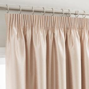 Montana Cream Pencil Pleat Curtains