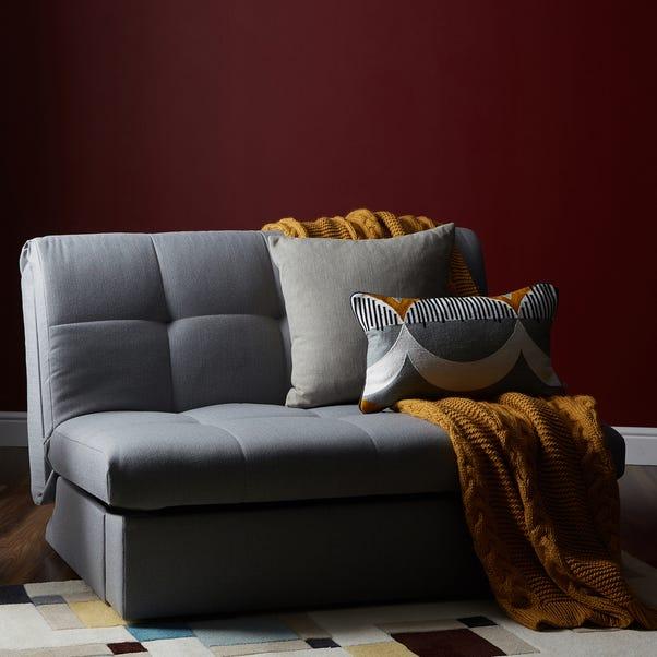 Grey Rowan Small Double Sofa Bed Grey
