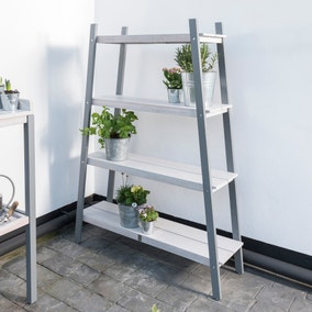 Florenity Grigio Grey Plant Shelf