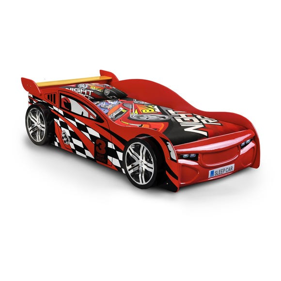 Julian Bowen Red Scorpion Racer Bed Red undefined