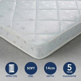 Fogarty Little Sleepers Soft Medium Anti Allergy Open Coil Mattress