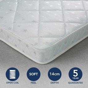 Fogarty Little Sleepers Soft Medium Anti Allergy Open Coil Mattress