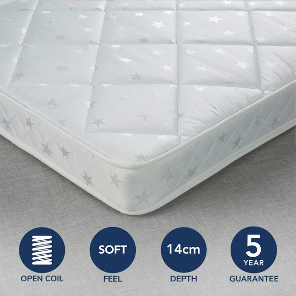Fogarty Little Sleepers Water Resistant Open Coil Mattress  undefined