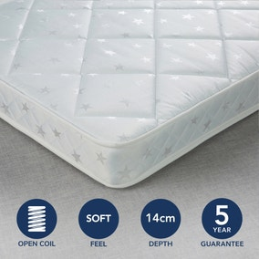 Fogarty Little Sleepers Water Resistant Open Coil Mattress