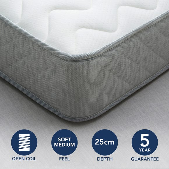 Fogarty Bamboo Anti Allergy Open Coil Mattress  undefined