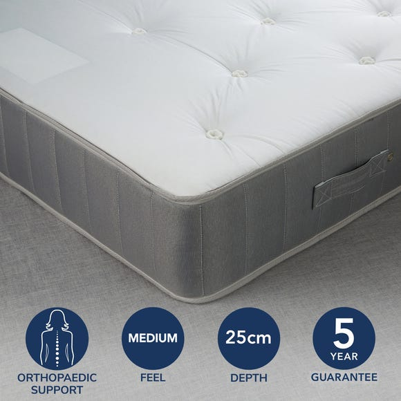 Fogarty Orthopaedic Open Coil Mattress White undefined