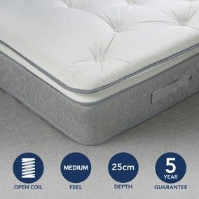 Fogarty Soft Medium Superfull Pillowtop Open Coil Mattress