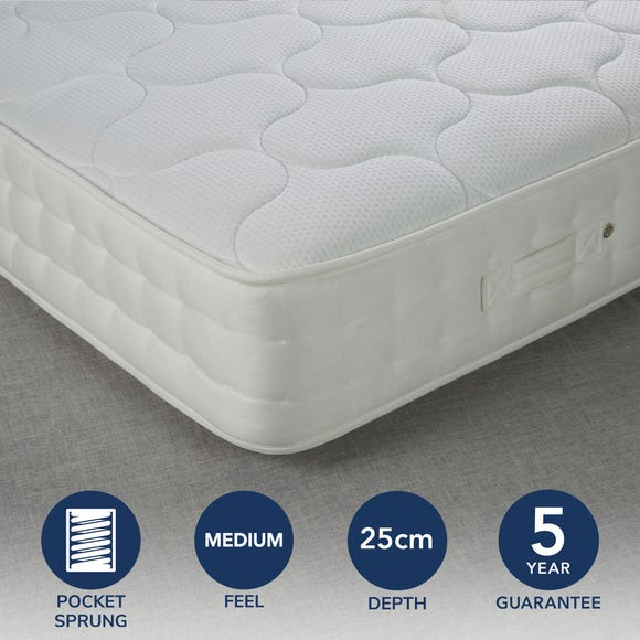 Fogarty Traditional 1000 Pocket Sprung Mattress  undefined