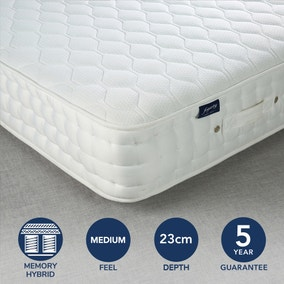 Fogarty Medium Cool Blue 1500 Pocket Sprung Mattress