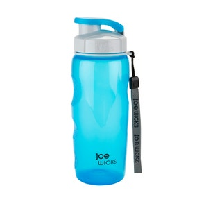 Joe Wicks 500ml Blue Sports Water Bottle