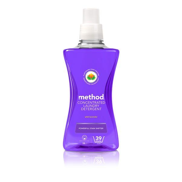 Method Wild Lavender Laundry Detergent Clear