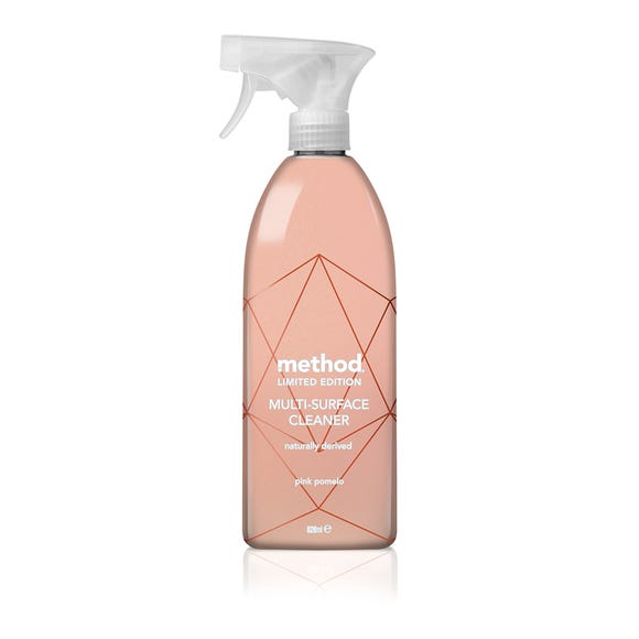 Method Limited Edition Rose Gold Multi-Surface Cleaner Clear