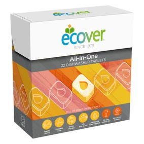 Pack Of 22 Ecover All In One Dishwasher Tablets
