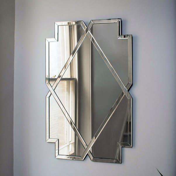 Bellingham Silver Wall Mirror Silver
