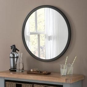Yearn Classic Circle Black Mirror