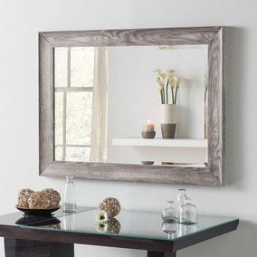 Yearn Framed Mirror Light Grey