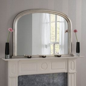 Yearn Contemporary Overmantle Mirror 112x77cm Champagne