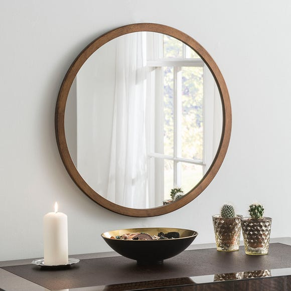 Yearn Classic Circle Bronze Mirror Brown undefined