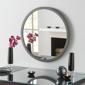 Yearn Classic Circle Dark Grey Mirror