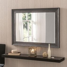 Yearn Framed Mirror Dark Grey