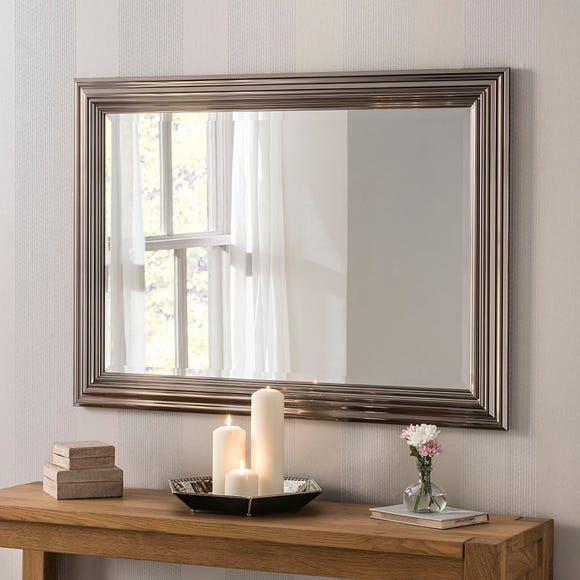 Yearn Framed Mirror Chrome Clear undefined