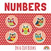 In and Out Numbers Book Red