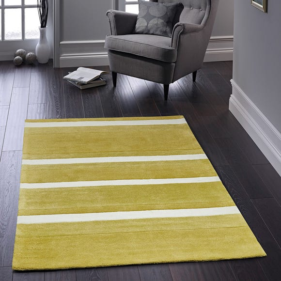Boston Stripe Rug Boston Stripe Yellow undefined