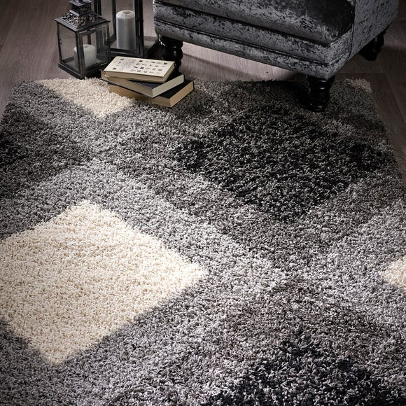 Diamond Shaggy Rug  undefined
