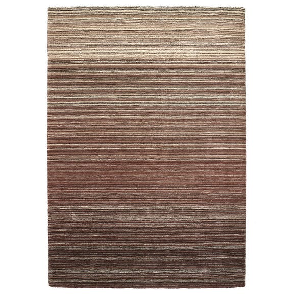 Fine Stripes Rug Fine Stripes Brown undefined