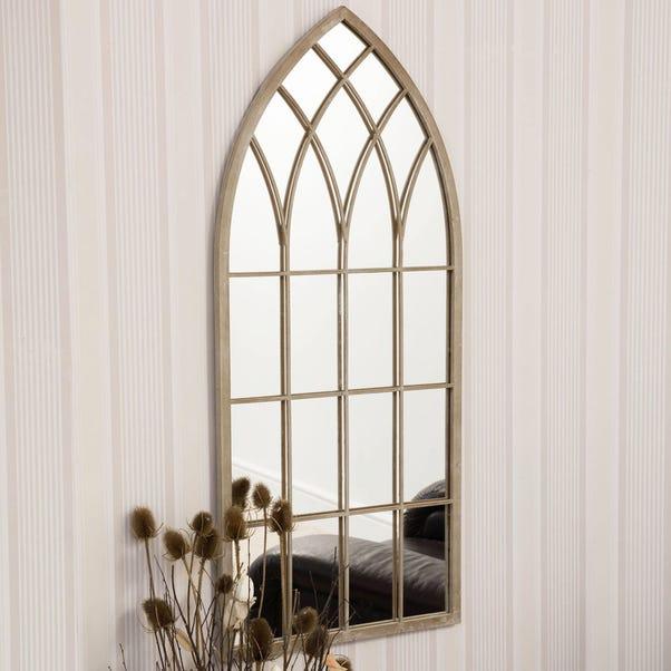 Flitwick Cream Garden Window Mirror Cream