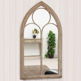 Eaton Cream Garden Window Mirror