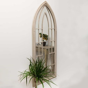 Hinwick Cream Garden Window Mirror