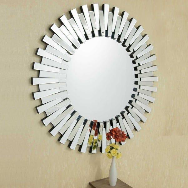 Starburst Wall Mirror Clear