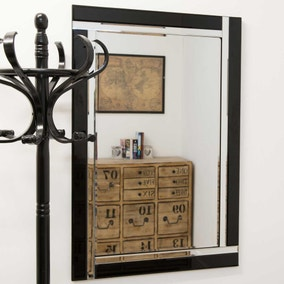Villa Black Wall Mirror