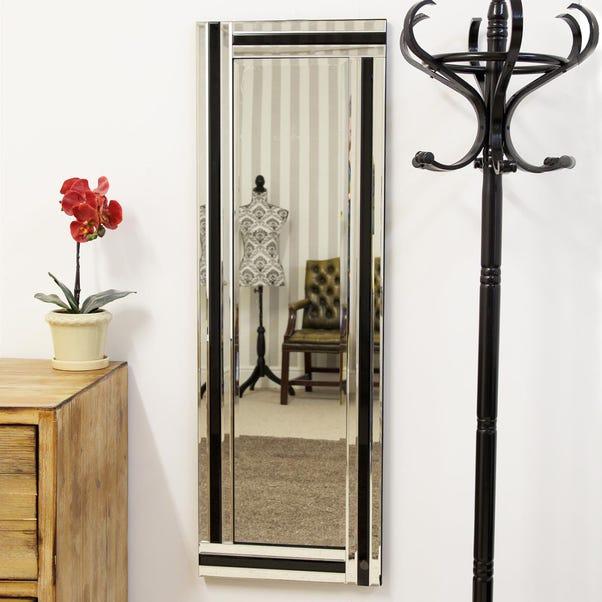 Westbury Black Wall Mirror Black undefined