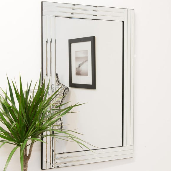 Milron Manor Wickham Wall Mirror Clear undefined