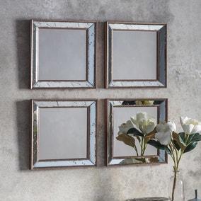 Bambra Antique Gold Wall Mirrors