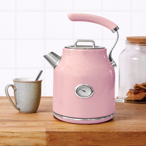 Retro 1.7L 3kW Pink Jug Kettle Pink