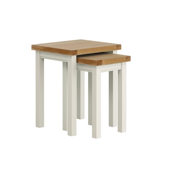Compton Ivory Nest of Tables Ivory