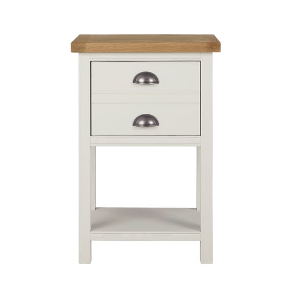 Compton Ivory Side Table Ivory