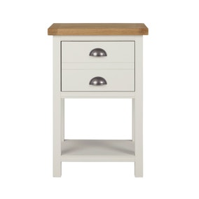 Compton Ivory Side Table