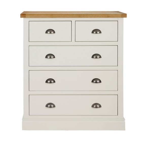 Compton Ivory 5 Drawer Chest Ivory