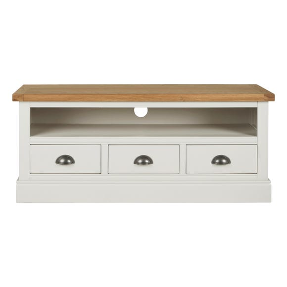 Compton Ivory Large TV Stand Ivory
