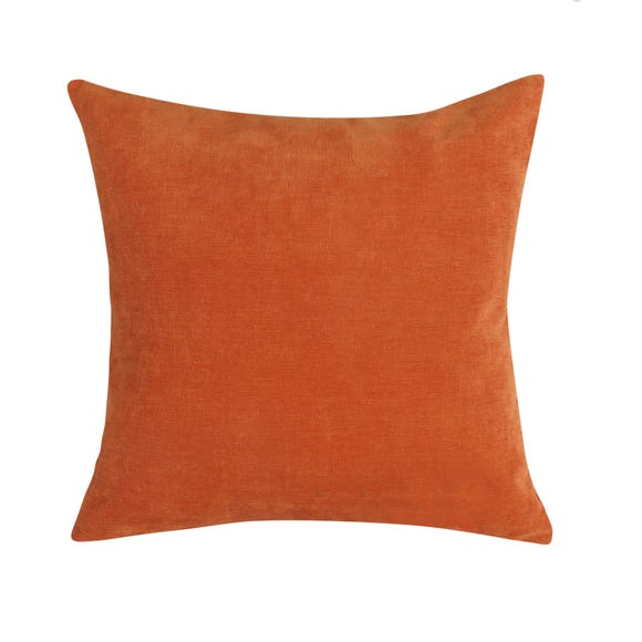 Velour Cushion Terracotta undefined