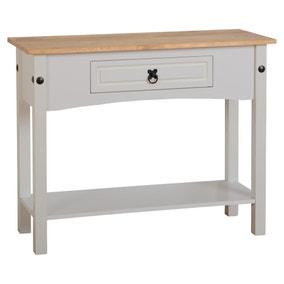Corona Grey Console Table